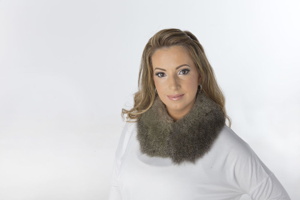 Picture of Fur Scarf - Peter Pan Collar