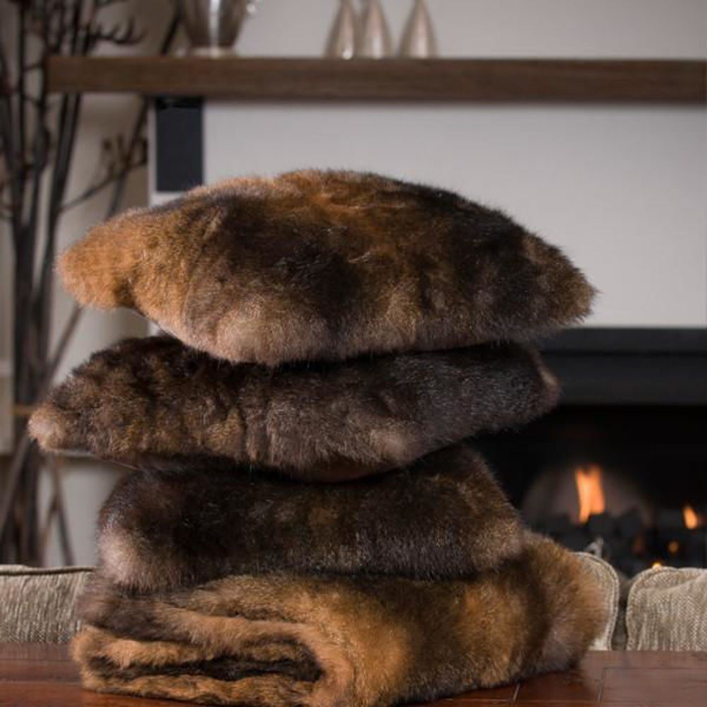 Picture of Natural Fur Cushion