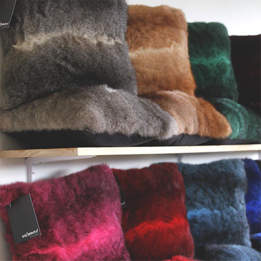 Picture of Dyed Fur Cushion
