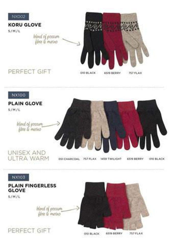 Picture of Plain Possum Gloves