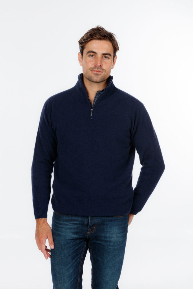 Picture of Lightweight Half Zip Sweater