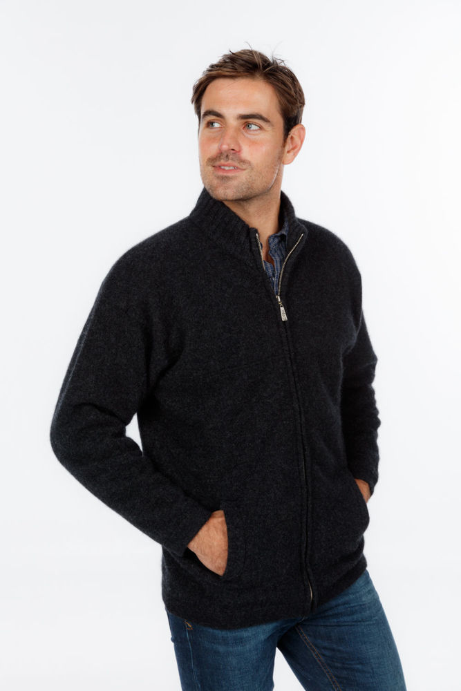 Picture of Felted Zip Jacket with Pockets