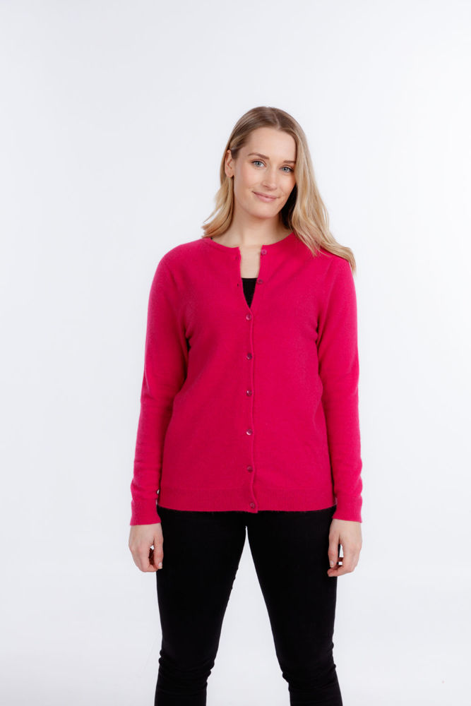 Picture of Button To Neck Cardigan